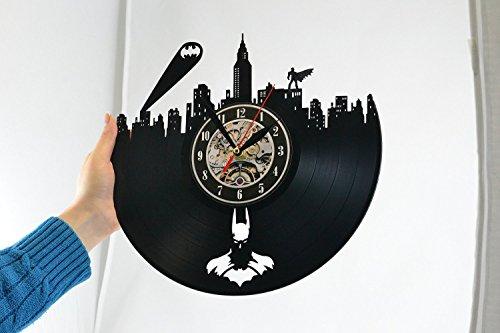 Batman Gotham City Logo Best Wall Clock Decorate Your
