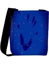Snoogg Hand Print Designer Womens Carry Around Cross Body Tote Handbag Sling Bags