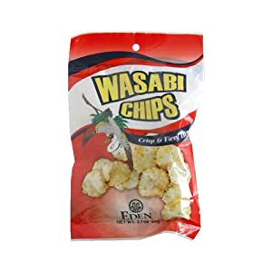 Eden Foods Hot N Spicy Wasabi Chips 20x21 Oz by Eden Foods