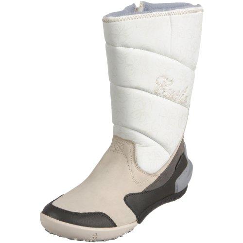 Cushe Women's Stay Puff Off White/Grey Waterproof Boots UW00205 4 UK