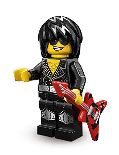 未開封No12-12 |100%NEW レゴ ミニフィギュア シリーズ12 ロックスター (71007 LEGO Minifigures Series12)