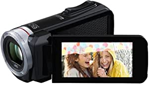 JVC GZ-R110BEU Camcorder (40-fach opt. Zoom, 7,6 cm (3 Zoll) Touchscreen, Full HD, SDXC/SDHC/SD Kartenslot, WiFi) schwarz