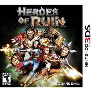 Square Enix 91106 Heroes of Ruin 3DS