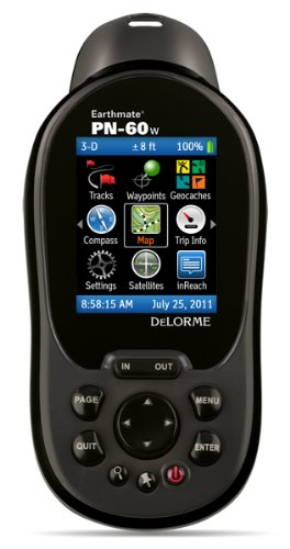 DeLorme AE-008372-201 Earthmate PN-60w with Topo North America and Map Pack