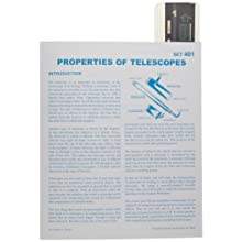 American Educational Properties Of Telescopes Astroslide Chart