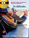 echange, troc Pascal Sarfati - Sarfati : Je Debute la Basse (+ 1 CD)