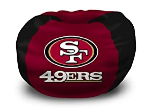 Northwest Co. 1NFL 15800 0013 RET NFL San Francisco 49ers Bean Bag Chair by Northwest