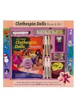 Clothespin Dolls Kit and Book