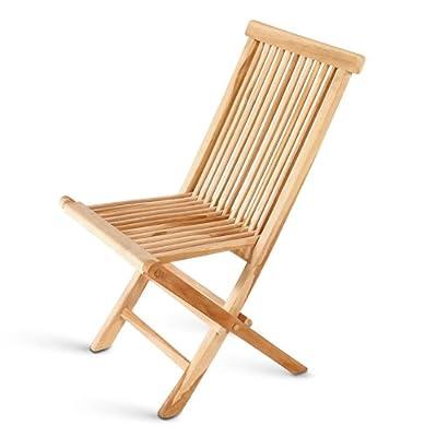SAM® 2x Klappstuhl aus Teakholz Gartenstuhl Klappstuhl im Sparset von SAM® bei Gartenmöbel von Du und Dein Garten