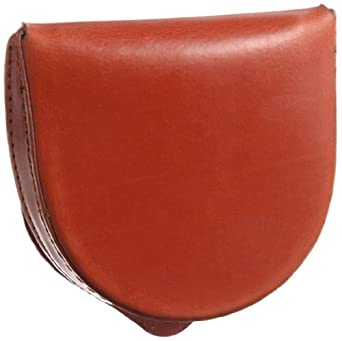03-6202 Coin Tray Purse: Oxford Tan