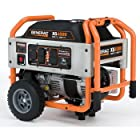Generac XG4000 4,500 Watt 220cc OHV Gas Powered Portable Generator With Wheel Kit (5778)
