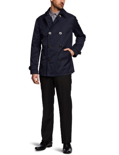 Brooks Brothers University Men's Pea Coat Navy Large