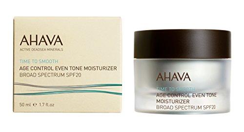 AHAVA Time to Smooth controllo età tono anche idratante ad ampio spettro SPF 20 50 ml