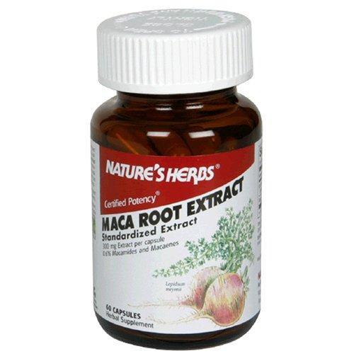 Twinlab Nature Extrait herbes racine de Maca, 60