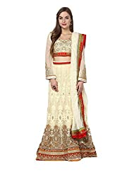 Yepme Alied Lehenga Choli Set - Beige & Red -- YPMLEHG0005_Free Size