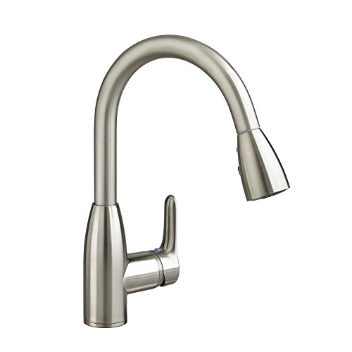 Check Out This American Standard 4175.300.075 Colony Soft Pull-Down Kitchen Faucet, Stainless Steel