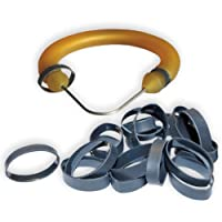 Shrink Rings for Making Speargun Bands / Slings (20 pack) by Spearit Group LLC