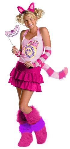 Alice in Wonderland Cheshire Cat Adult Costume 不思議の国チェシャ猫大人用コスチュームの国のアリス♪ハロウィン♪サイズ:Medium (8-10)