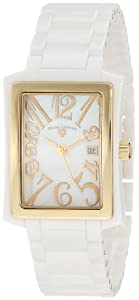 Swiss Legend Women's 10034-WWGA Bella White Mother-Of-Pearl Watch