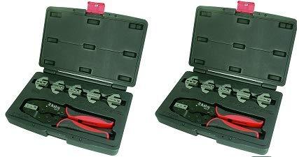 Astro 9477 Professional Quick Interchangeable Ratchet Crimping Tool Set, 7-Piece (2) (Tamaño: 2)