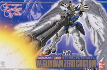 BAN71257 1/144 EW-01 W-Gundam O Custom Metallic & Clear