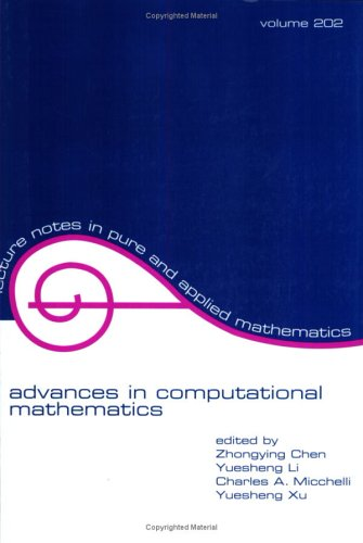 Advances In Computational Mathematics (Lecture Notes In Pure And Applied Mathematics)