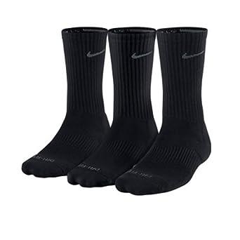 Buy Nike SX4206 Dri-Fit Half-Cushion Crew Socks - 3 pack by Nike