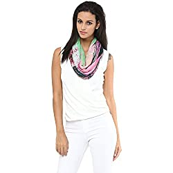 Shingora Pink fashion Scarves For Women