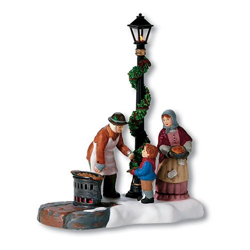 Department 56 Dickens' A Christmas Carol Chestnut Vendor