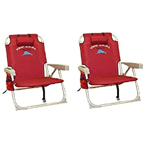 Buy 2 Tommy Bahama Red Backpack Cooler Chairs by Tommy Bahama