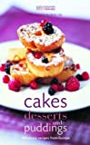 img - for Cakes, Desserts and Puddings book / textbook / text book