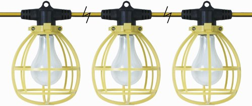 Designers Edge E-400 100-Feet 1500-Watt Temporary String Light