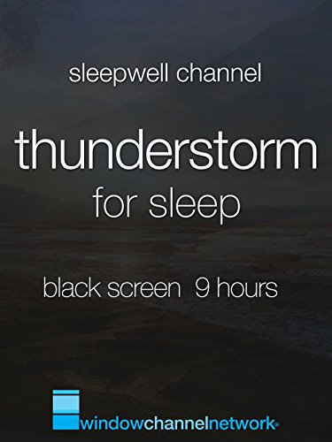 Thunderstorm for Sleep, Black Screen 9 hours