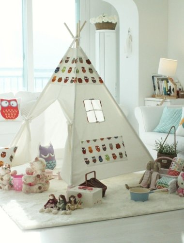 Kids Teepee Tent front-118229