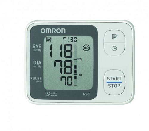 Omron RS3 Elektronisches Blutdruckmessgerät für das Handgelenk - 4