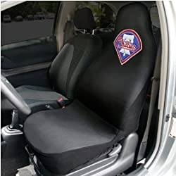 Philadelphia Phillies Black Team Logo Car Seat Cover
