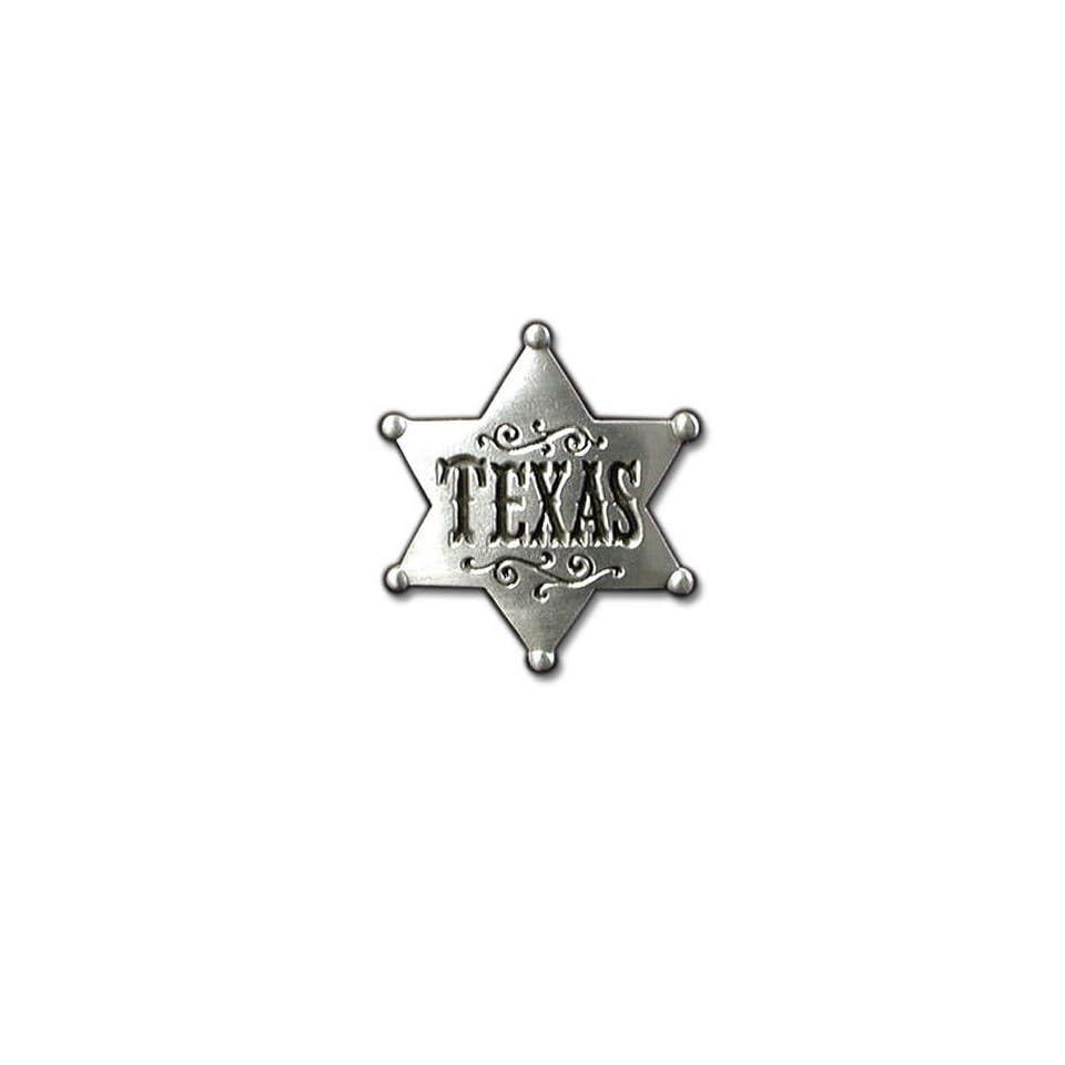 Texas Sheriff Badge Pewter Belt Buckle