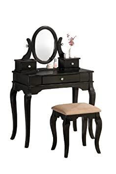 Admirable Vanity Set With Stool And Mirror Machost Co Dining Chair Design Ideas Machostcouk