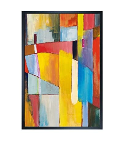 Clive Watts Bridge Framed Print On Canvas, Multi, 37.5 x 27.5