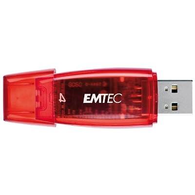 EMTEC C400 Candy II Series 4 GB USB 2.0 Flash Drive (Red)
