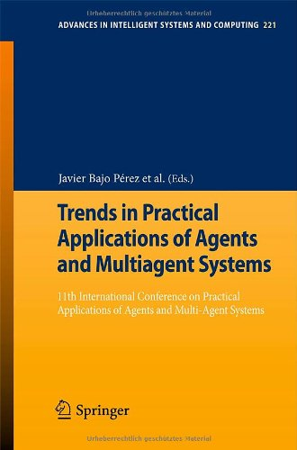 Trends in Practical Applications of Agents and Multiagent Systems: 11th International Conference on Practical Applicatio