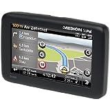 """Medion E4460 Navigationssystem 4,3"""" 10,9cm 4GB intern, GoPal 6 Europa, TMC, TTS, Bluetooth, Tunnelassistent, Nahes Parken, Street News, 45 Länder West- & Osteuropa, 3D Ausfahrts- u. Kreuzungsansicht"""