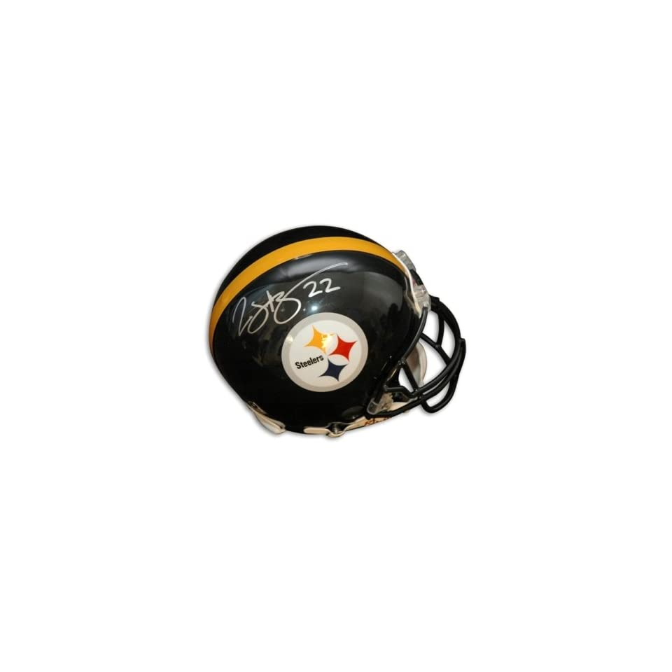 Duce Staley Signed Pittsburgh Steelers Pro Helmet