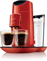 Philips HD7870/81 SENSEO® Twist rouge flamboyant La machine à café qui obéit au doigt et à l'oeil avec commandes tactiles et sélecteur d'intensité