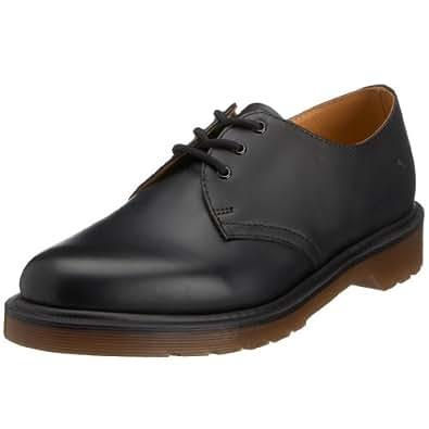 Dr Martens 1461 Pw Smooth, Chaussures de ville mixte adulte - Noir (Black), 48 EU (13 UK)
