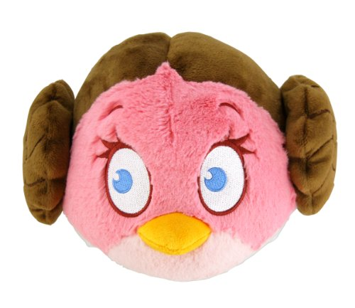 "Angry Birds 8"" Star Wars Plush - Princess Leia - 20cm Stofftier"