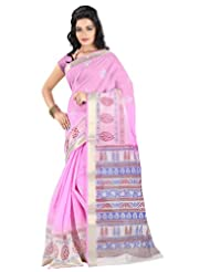 Roopkala Silks & Sarees Cotton Silk Saree With Blouse Piece (Ga-1123 _Light Pink)