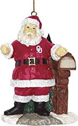 Welcome Home Santa Ornament-Oklahoma