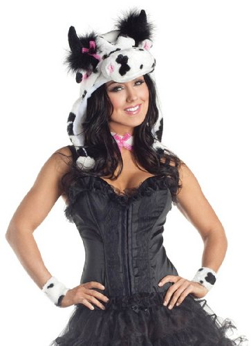 Spotted Cow Adult Costume Kit