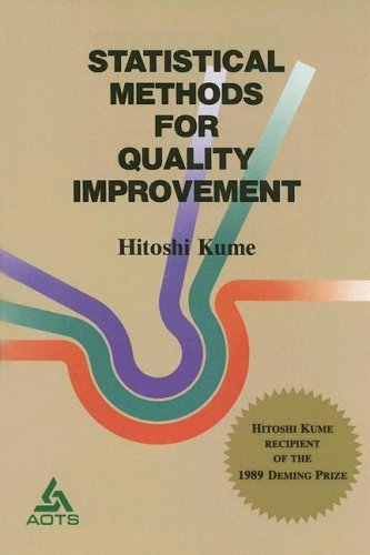 Statistical Methods for Quality Improvement by Hitoshi Kume (1987-08-05)